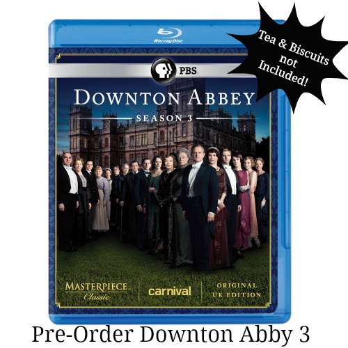 downton Abby season 3 on dvd