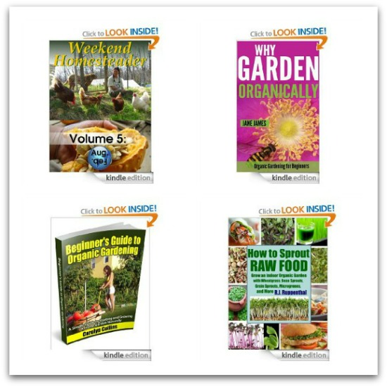 free garden kindle books