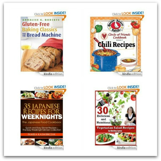 Free Amazon Kindle Books – Cooking, Garden + Children's Books