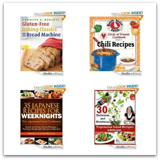 Free Amazon Kindle Books – Cooking, Garden + Children's Books