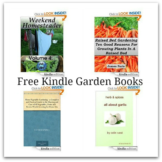 free kindle garden books