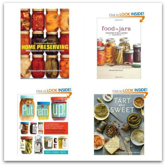 home canning books