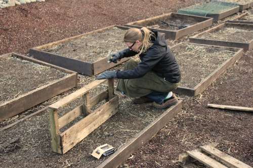 how to build a wooden pallet planter