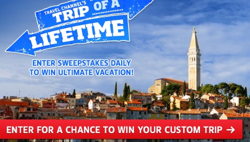 lifetime sweepstakes win a free trip