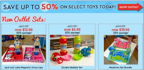 melissa and doug outlet sale