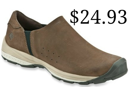 mens slip on shoe brown