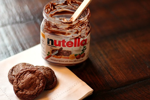 nutella cookies recipe