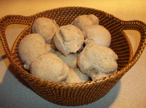 oatmeal rolls picture