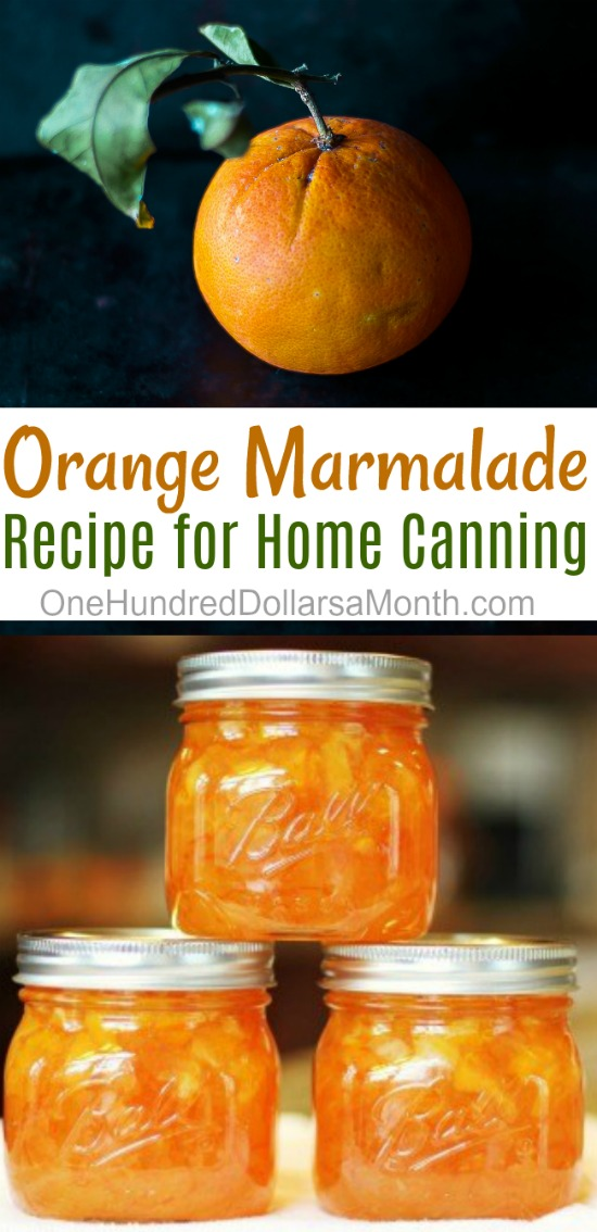 Canning 101 – Orange Marmalade Recipe