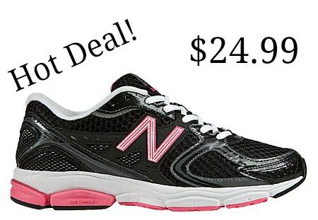 pink New Balance Sneaker