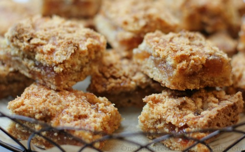 recipe apple pie jam bars