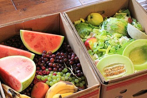 reclaimed produce