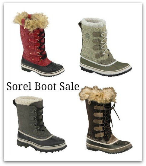 sorel boot sale