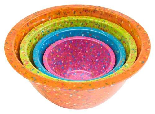 speckled bowls