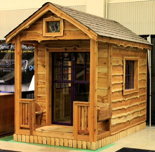 Small wooden potting sheds how to build a cedar garden for Build your own barn online