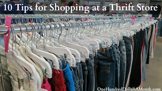 10 Tips for Shopping at a Thrift Store