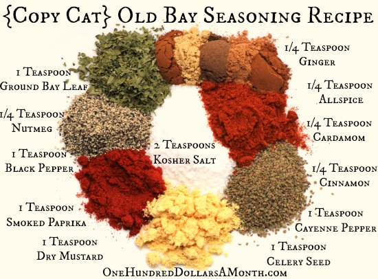 DIY {Copy Cat} Old Bay Seasoning Recipe