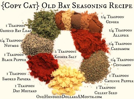 Copy Cat Old Bay Seasoning Recipe