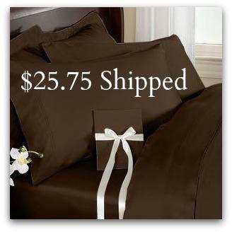 Elegance Linen sheet set 1500 Thread Count EGYPTIAN QUALITY