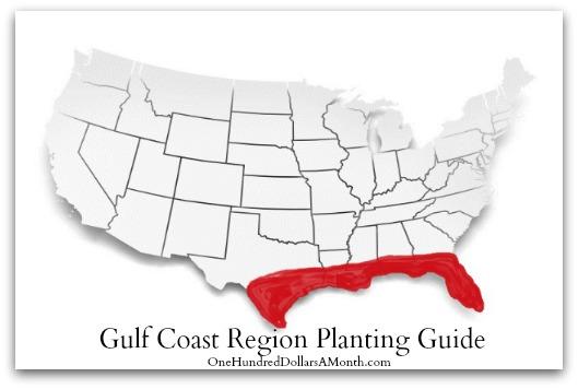 Gulf Coast Region Planting Guide