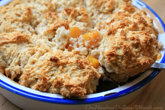 Peach Cobbler with Canned Peaches Recipe