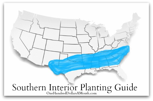 Southern Interior Planting Guide