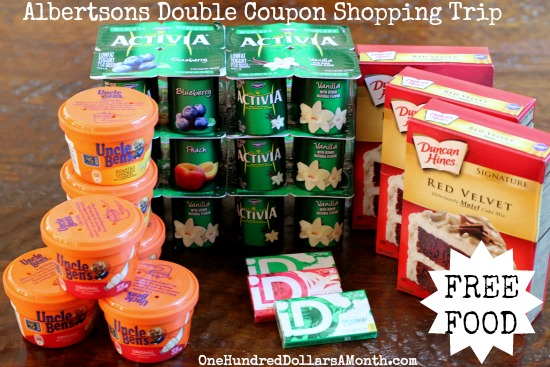 Shopping with Mavis | Albertsons Double Coupon Shopping Trip