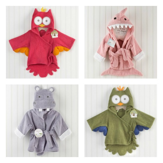 baby aspen bath hoodies towels
