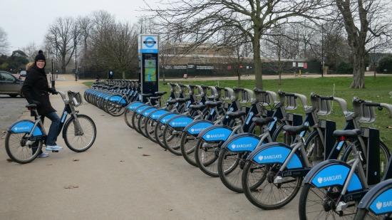 barclays bike hire rental london