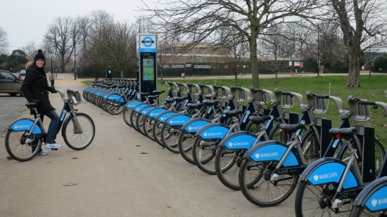 barclays bike hire rental london