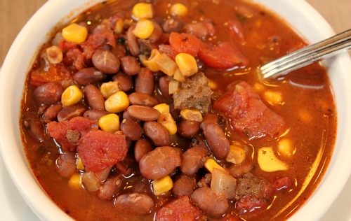 Easy Slow Cooker Recipes – Taco Soup