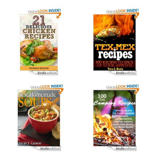 Free Amazon Kindle Books – Cookbooks, Children's Books, Gardening Books + Self Help Books