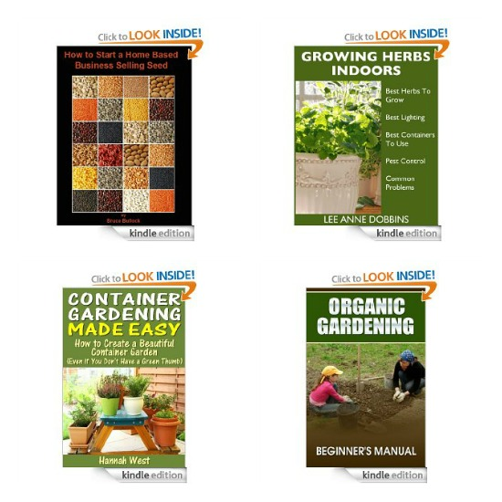 free gardening kindle books