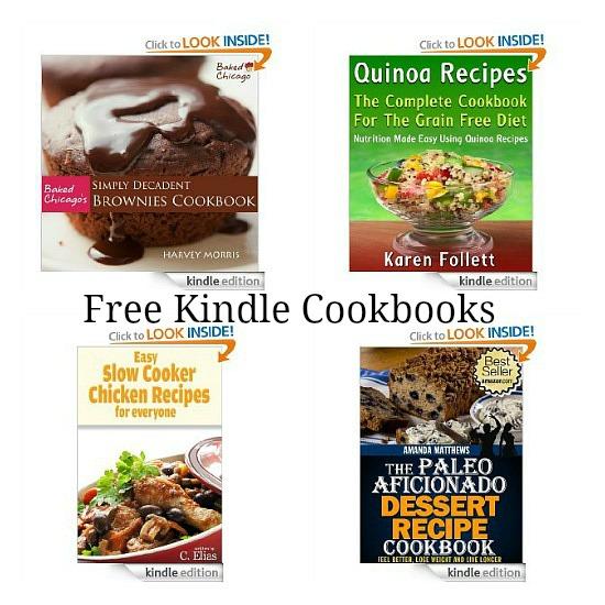 free kindle cookbooks