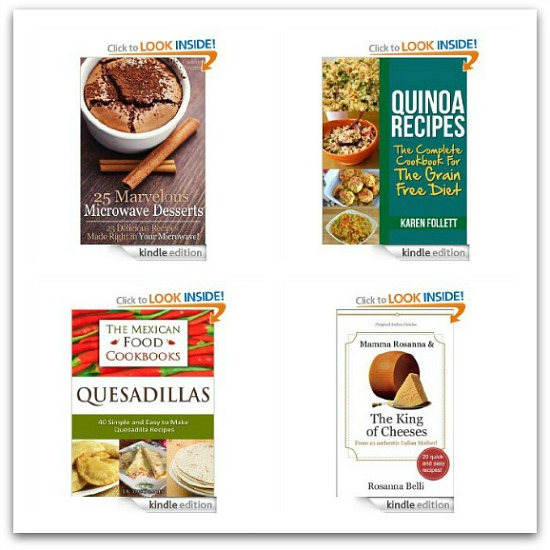 free kindle cookbooks