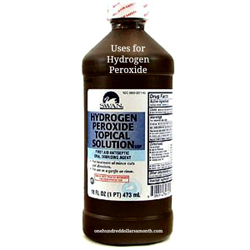Money Saving Tip – 10 Uses for Hydrogen Peroxide