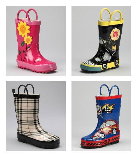 kids childrens rain boots