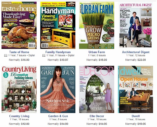 Browse for DiscountMags coupons valid through December below. Find the latest DiscountMags coupon codes, online promotional codes, and the overall best coupons posted by our team of experts to save you $10 off at DiscountMags. Our deal hunters continually update our pages with the most recent DiscountMags promo codes & coupons for , so check back often!