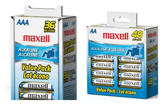 maxell batteries