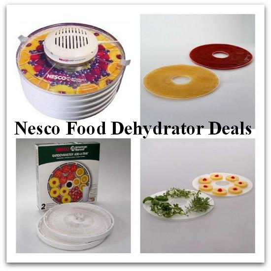 nesco food dehydrator coupons