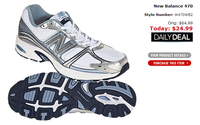 new balance running shoe