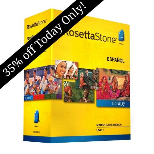 rosetta stone coupon