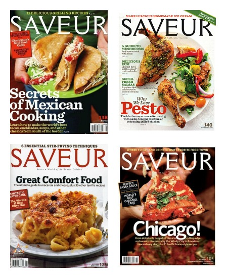 1 Year Subscription to Saveur Magazine Only $4.99