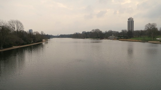 serpentine lake hyde park