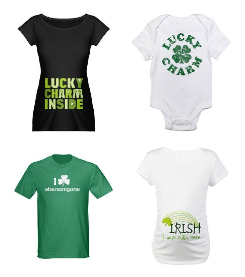 t-shirts for St. Patrick's Day