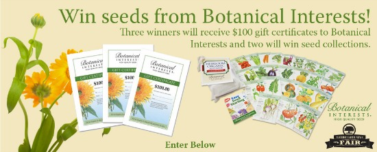 win botanical interests seeds