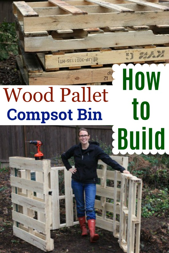 DIY – How to Build a Compost Bin Out of Wood Pallets
