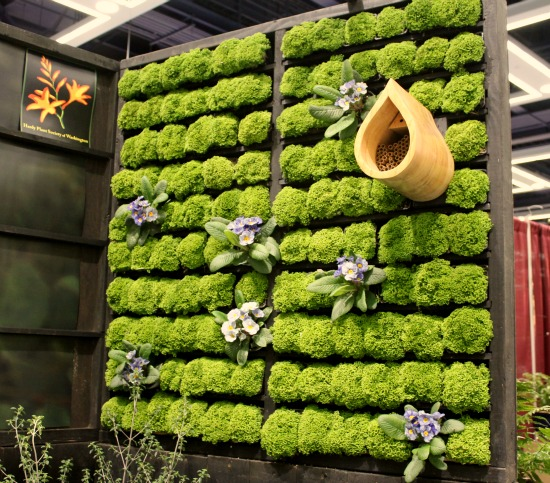 Living walls wood pallet wooden pallets google search - Jardin vertical pallet ...