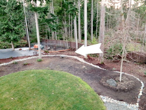 wooded-backyard Ideas For Wooded Backyard Landscape on ideas for muddy backyards, ideas for sloped backyards, ideas for sloping backyards,