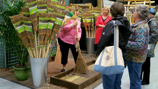 Northwest Home and Garden Show – Tool Sheds, Olive Baskets, Hydroponics, Mushrooms, Tree Faces, Wooden Brooms + More